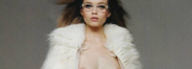 abbey lee kershaw nude and ready for winter 8012