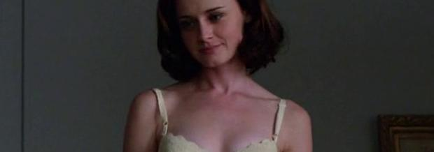 alexis bledel topless tease on mad men 5874