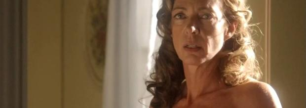allison janney topless in bathroom on masters of sex 3118