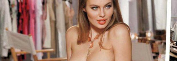 amanda streich nude in change room for pb 4344