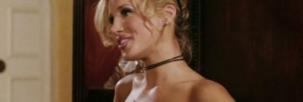 amanda swisten topless as french maid in american wedding 3131