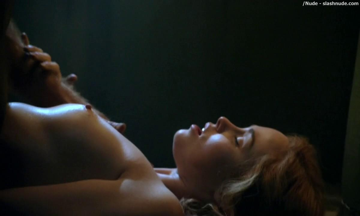 Anna Hutchison Nude For Sex Scene On Spartacus 5