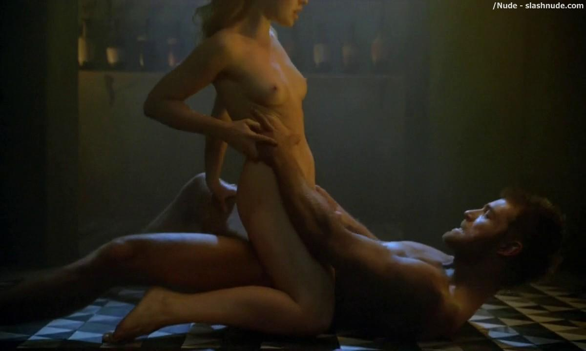 Anna Hutchison Nude For Sex Scene On Spartacus 8