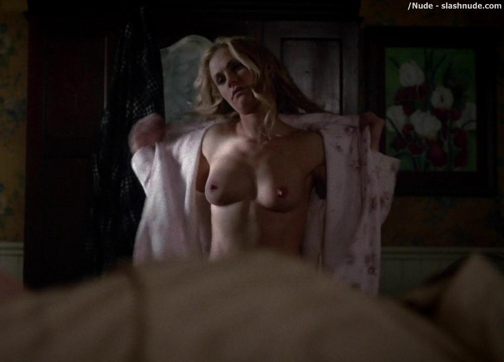 Anna Paquin Topless From True Blood Final Season Premiere 2