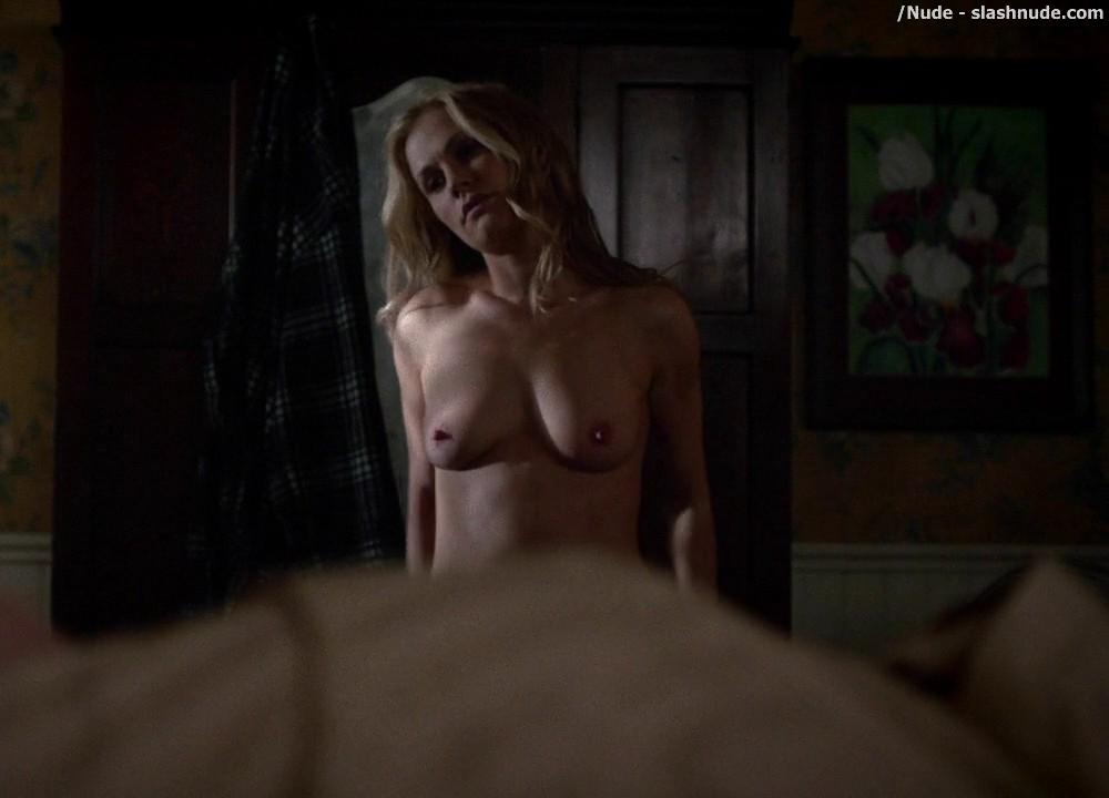 Anna Paquin Topless From True Blood Final Season Premiere 4