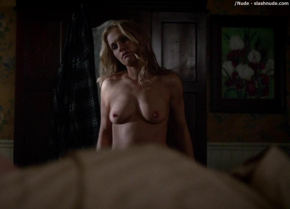 Anna Paquin Topless From True Blood Final Season Premiere 5