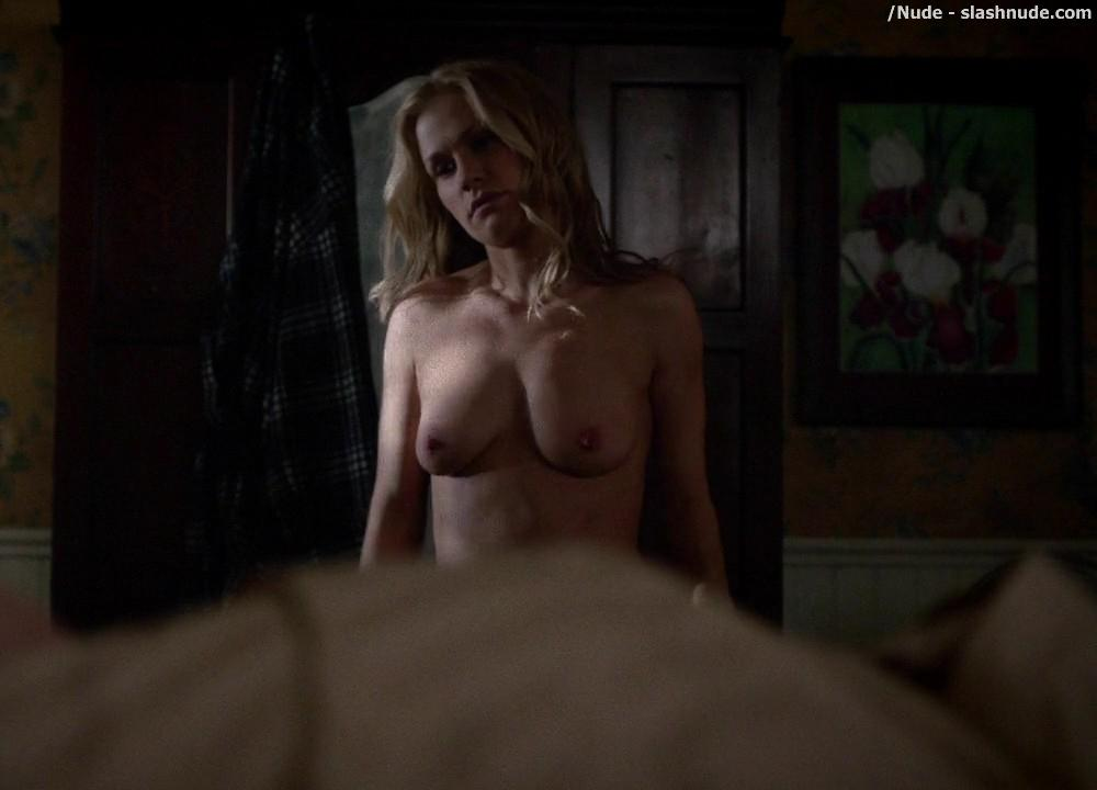 Anna Paquin Topless From True Blood Final Season Premiere 7