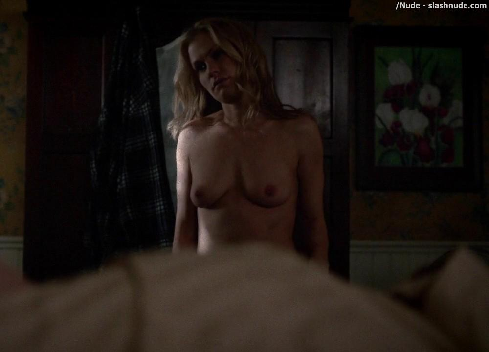 Anna Paquin Topless From True Blood Final Season Premiere 8