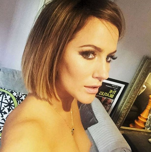 British Tv Host Caroline Flack Topless In Accidental Share - Photo 1