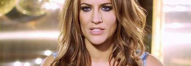 british tv host caroline flack topless in accidental share 3672