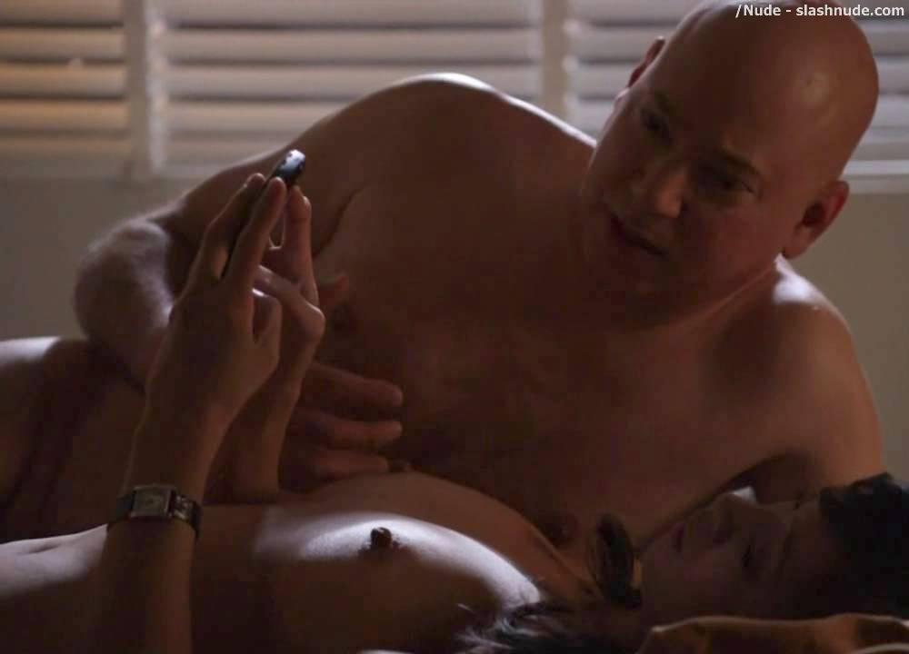Californication threesome sex scene