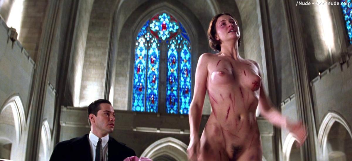 Charlize Theron Nude And Full Frontal In The Devil Advocate 22