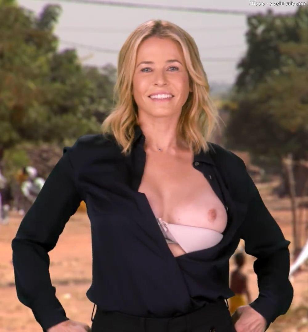 God knows! Breast chelsea handler nude