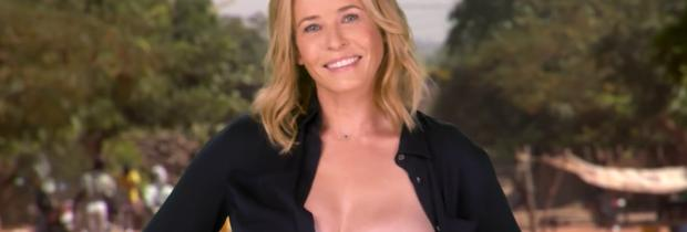 chelsea handler flashes breast in spoof political ad 6676