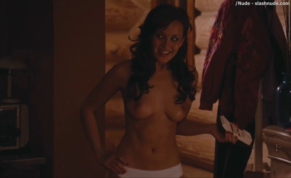 Are crystal lowe hot tub time machine scene can not