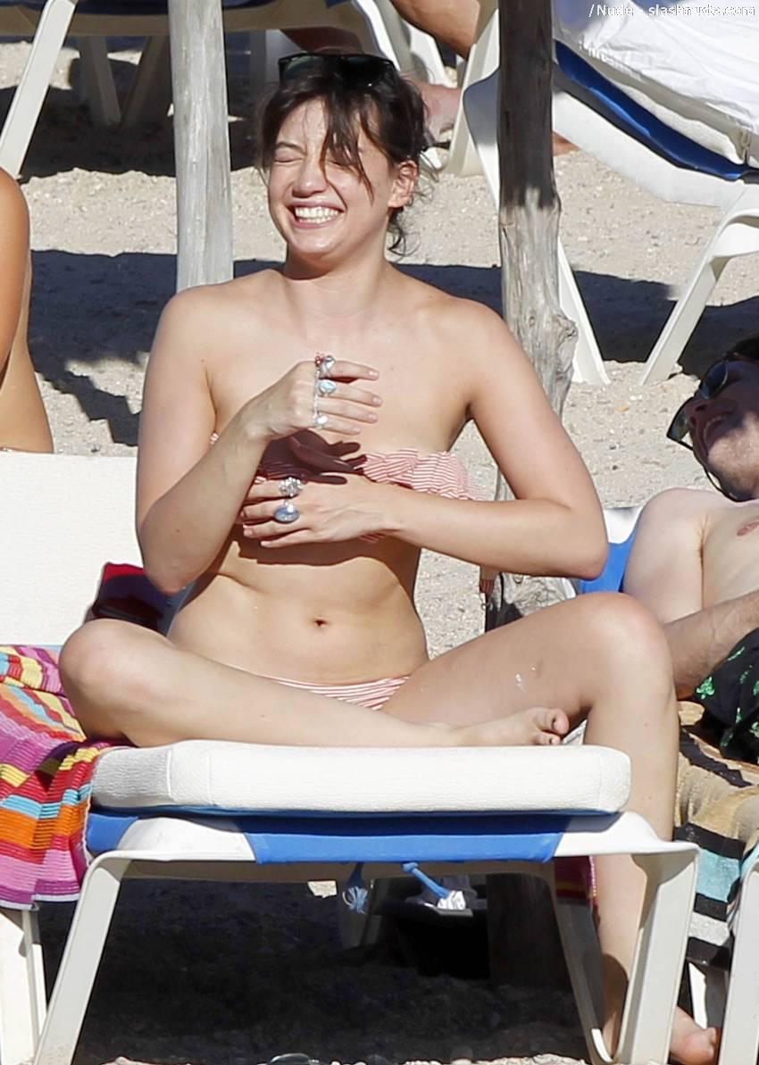 Daisy Lowe Topless Breast Rub From Doctor Who 1