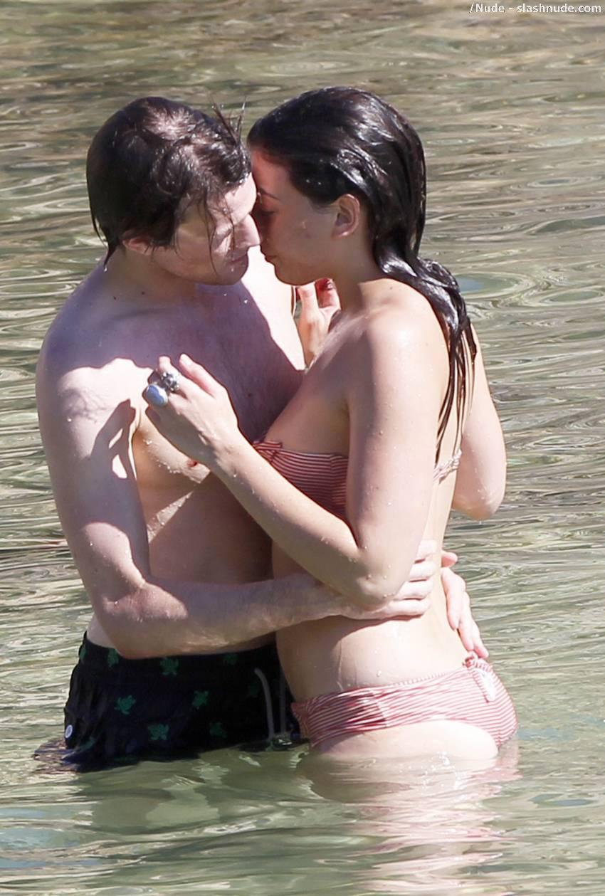 Daisy Lowe Topless Breast Rub From Doctor Who 16