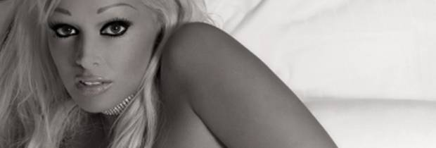 daniela katzenberger nude in black and white 5162