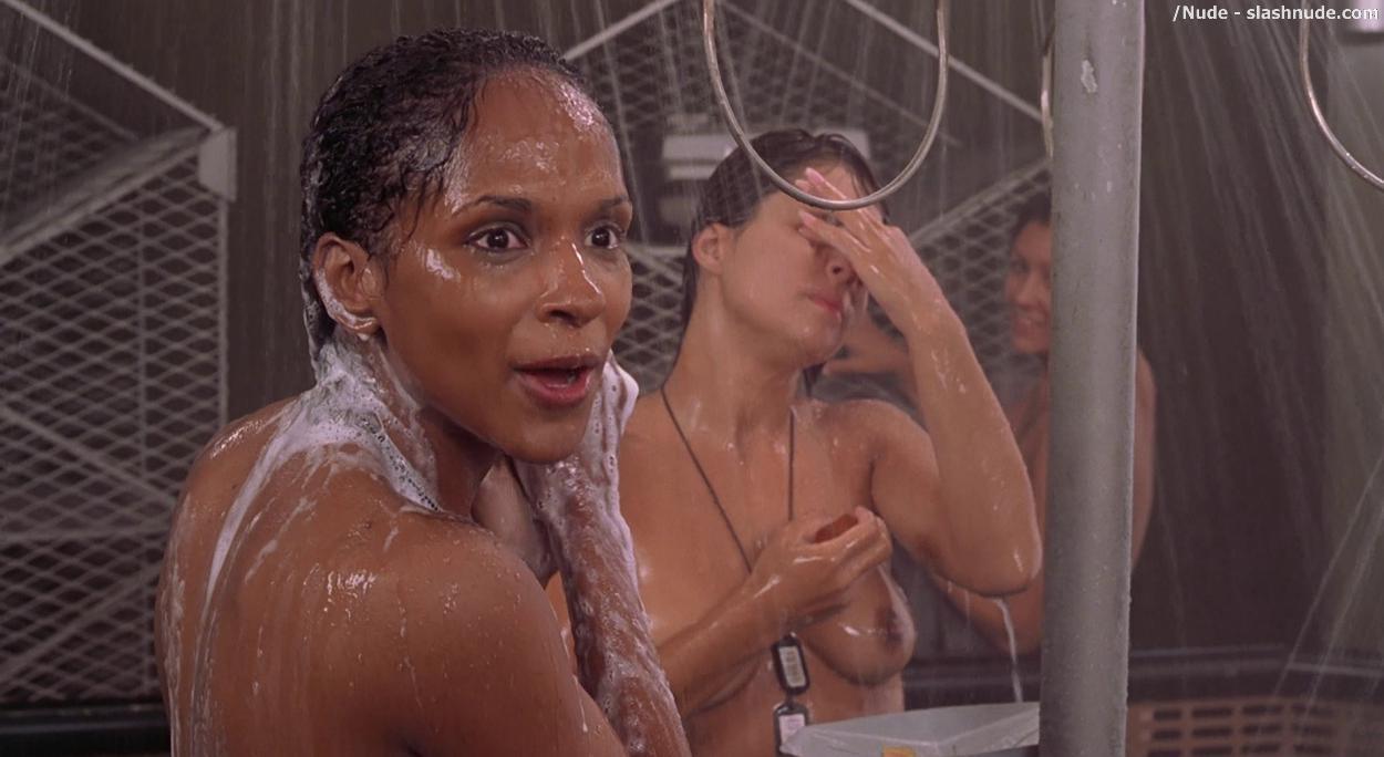 Star ship trooper nude shower scene