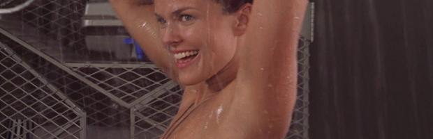 dina meyer topless starship troopers shower 9491