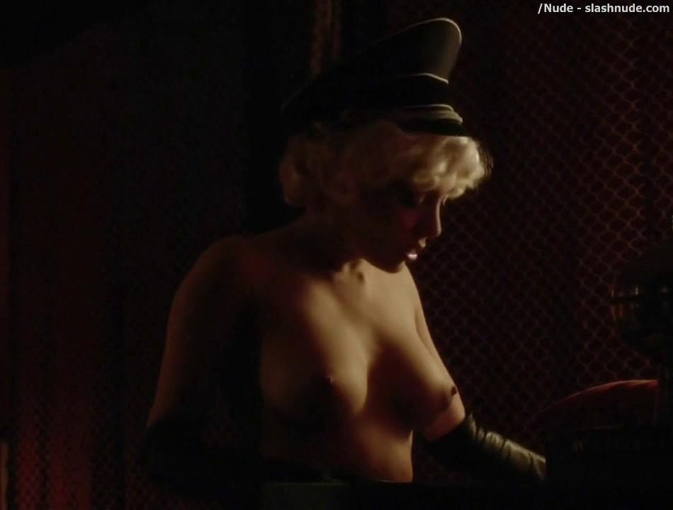 Elena Satine Topless To Die For On Magic City 10