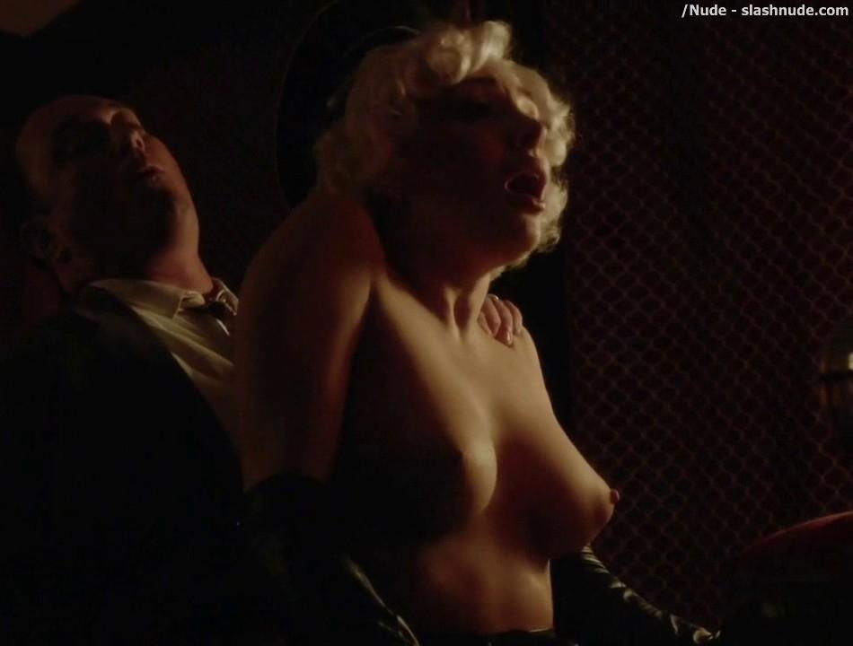Elena Satine Topless To Die For On Magic City 15