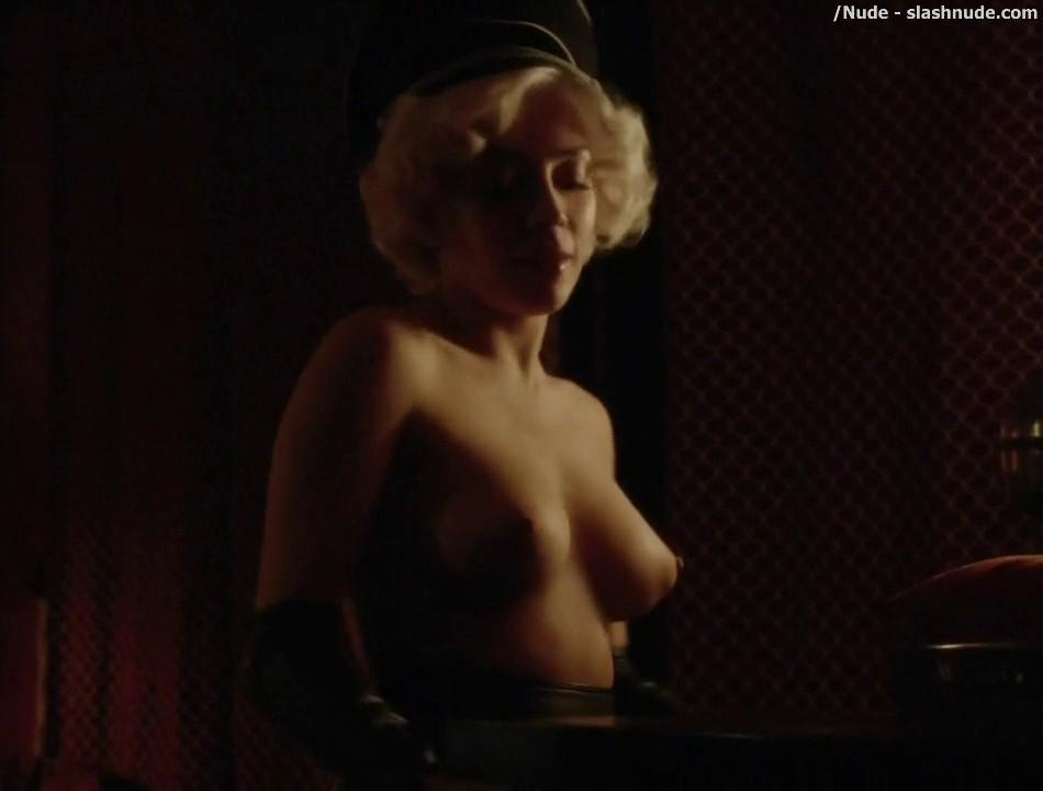 Elena Satine Topless To Die For On Magic City 6
