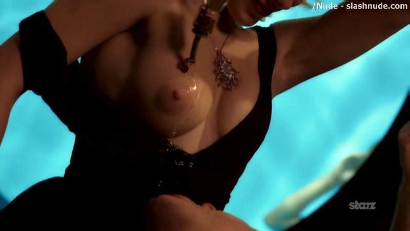 Elena Satine Topless To Serve You A Drink 13