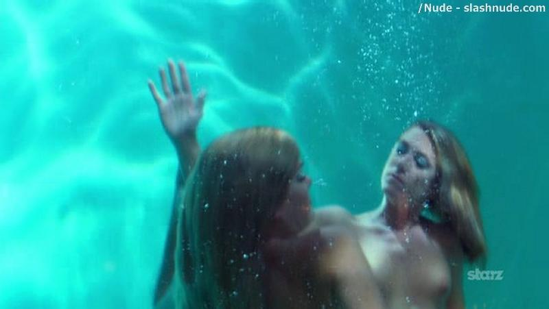 Elena Satine Topless To Serve You A Drink 5