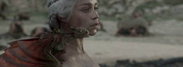 emilia clarke naked and dirty in game of thrones 0610