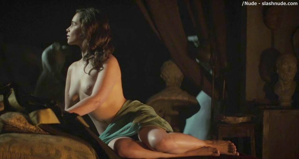 Emilia Clarke Topless In Voice From Stone 5