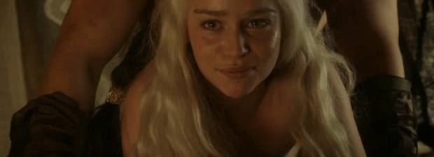 emilia clarke topless sex scene in game of thrones 9037