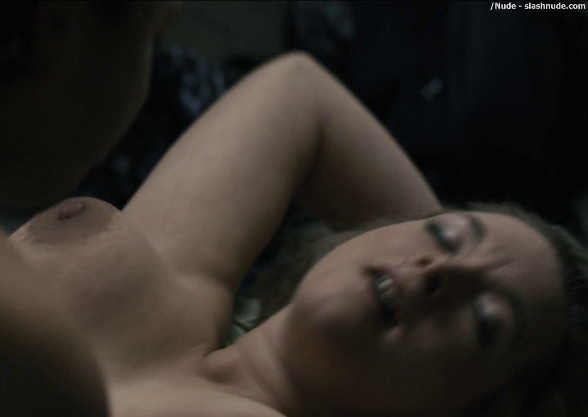Callie hernandez topless sex scene tattood girl graves s01e06 10