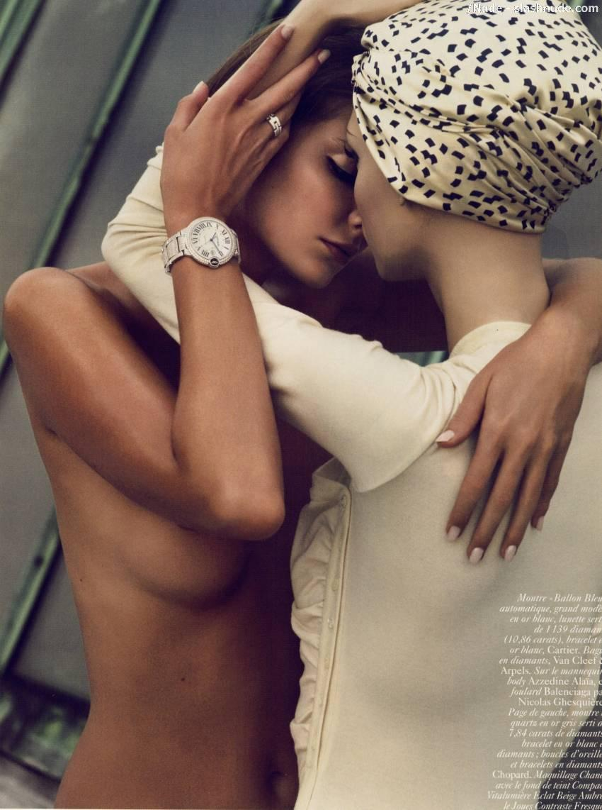 Eniko Mihalik Topless Nipples All The Vogue 7