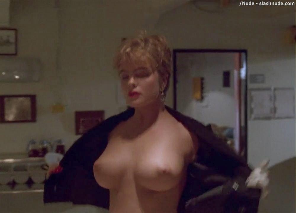Erika Eleniak Topless In Under Siege 13