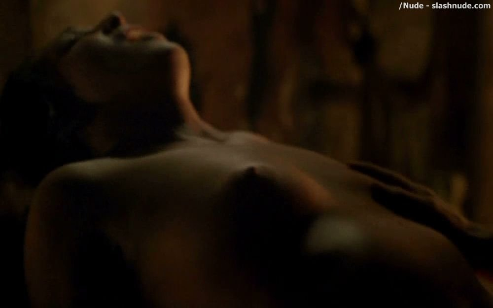Erin Cummings Nude Top To Bottom In Spartacus 10