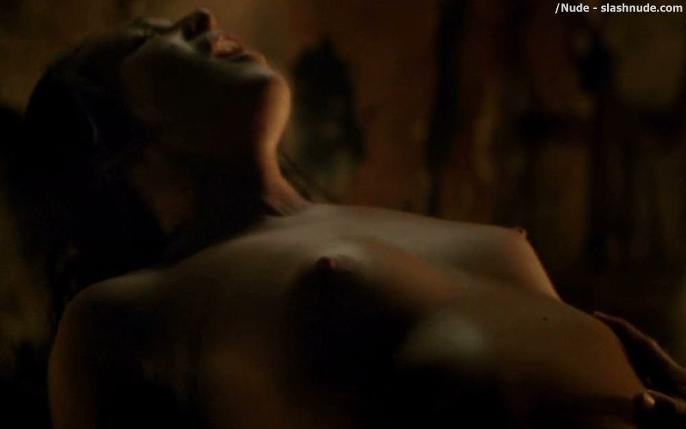 Erin Cummings Nude Top To Bottom In Spartacus 11