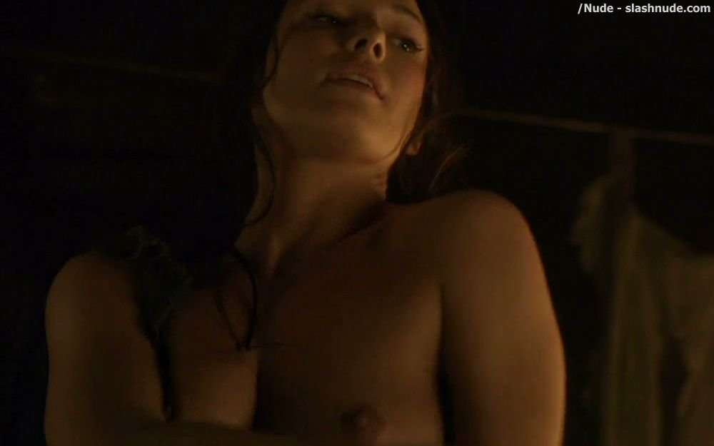 Erin Cummings Nude Top To Bottom In Spartacus 26