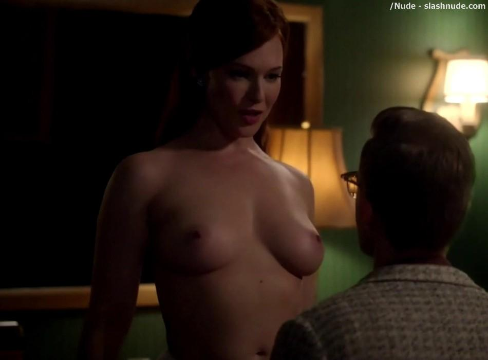 Erin Cummings Topless Breasts Unleashed On Masters Of Sex 22