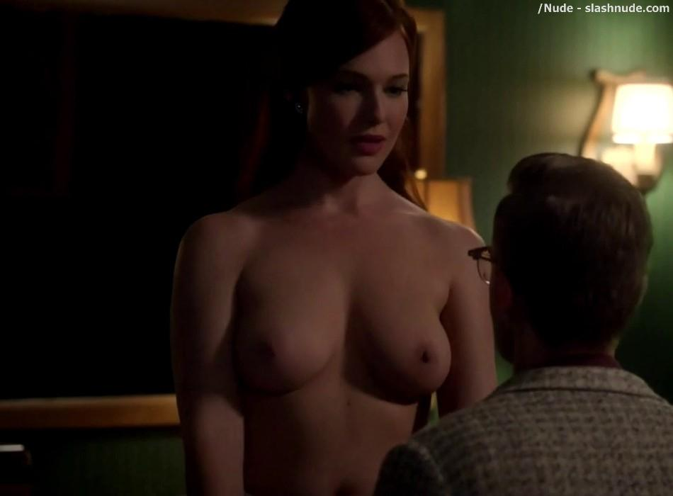 Erin Cummings Topless Breasts Unleashed On Masters Of Sex 24