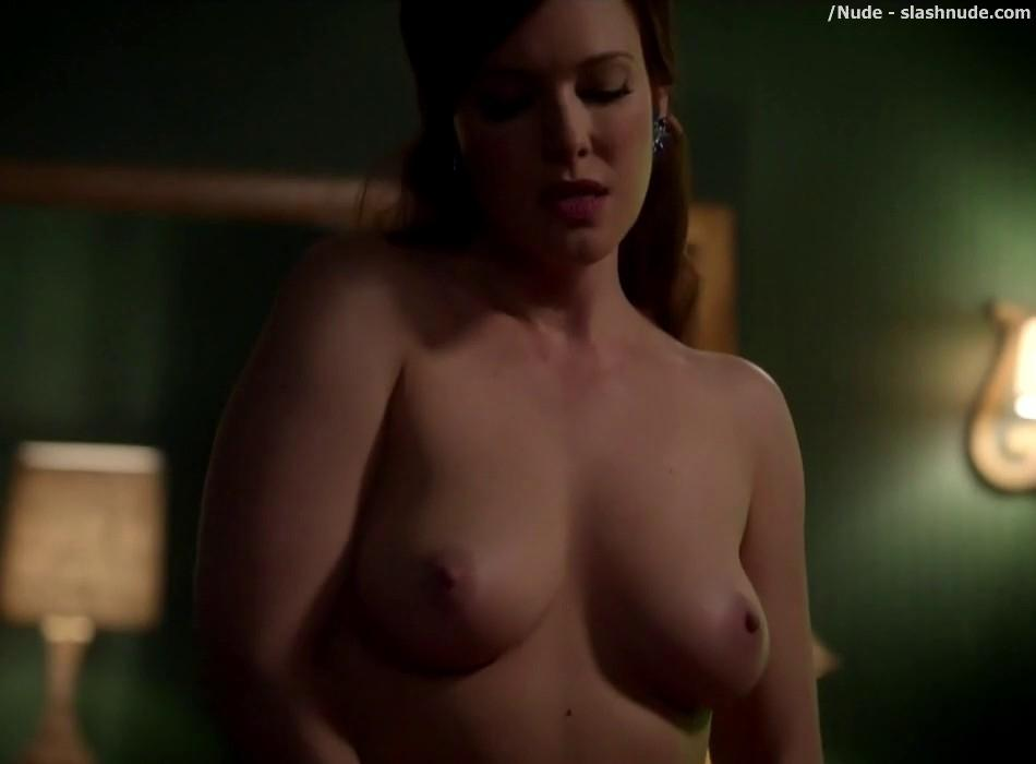 Erin Cummings Topless Breasts Unleashed On Masters Of Sex 29