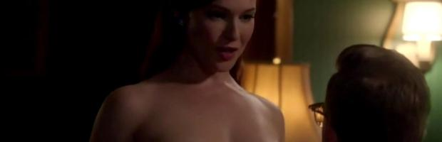 erin cummings topless breasts unleashed on masters of sex 4560