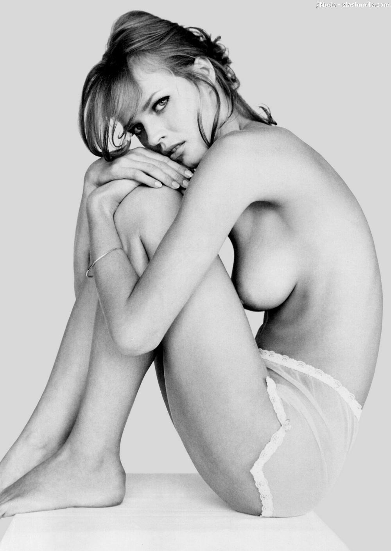 Eva herzigova nude, asian striped