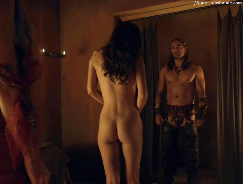 Ellen hollman explicit group sex topless butt spartacus s03e01 2013 10