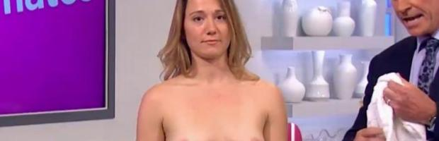hannah almond topless for breast exam on lorraine 2263