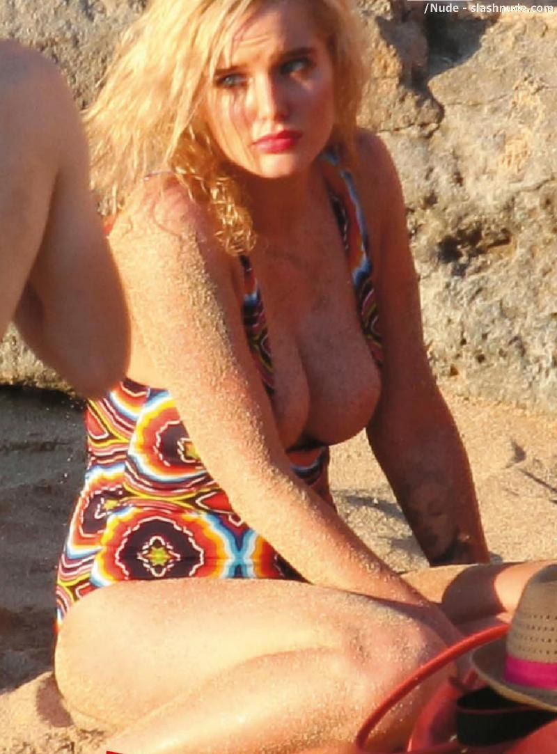 Helen Flanagan Topless Breasts Revealed In Malfunction 6