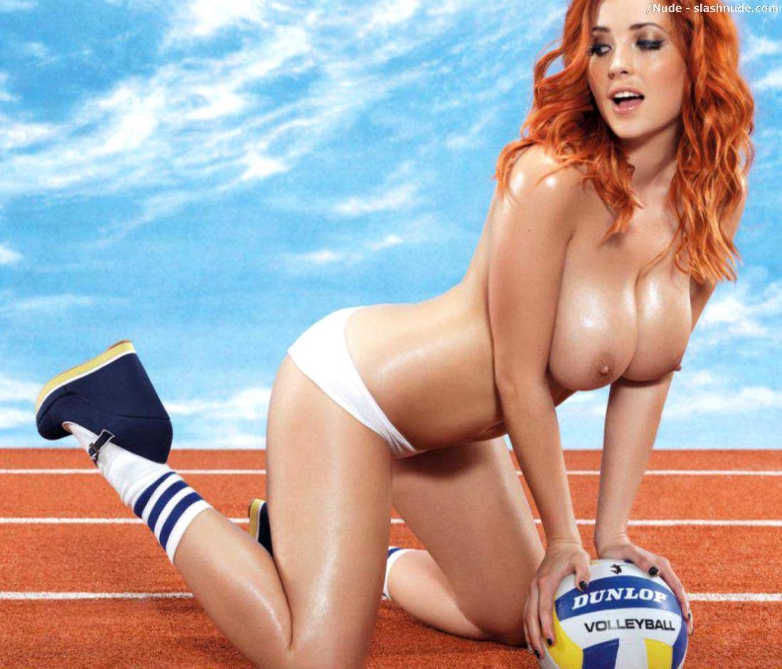 Holly Peers Lucy Collett Emma Glover Leah Francis Topless Olympics 5