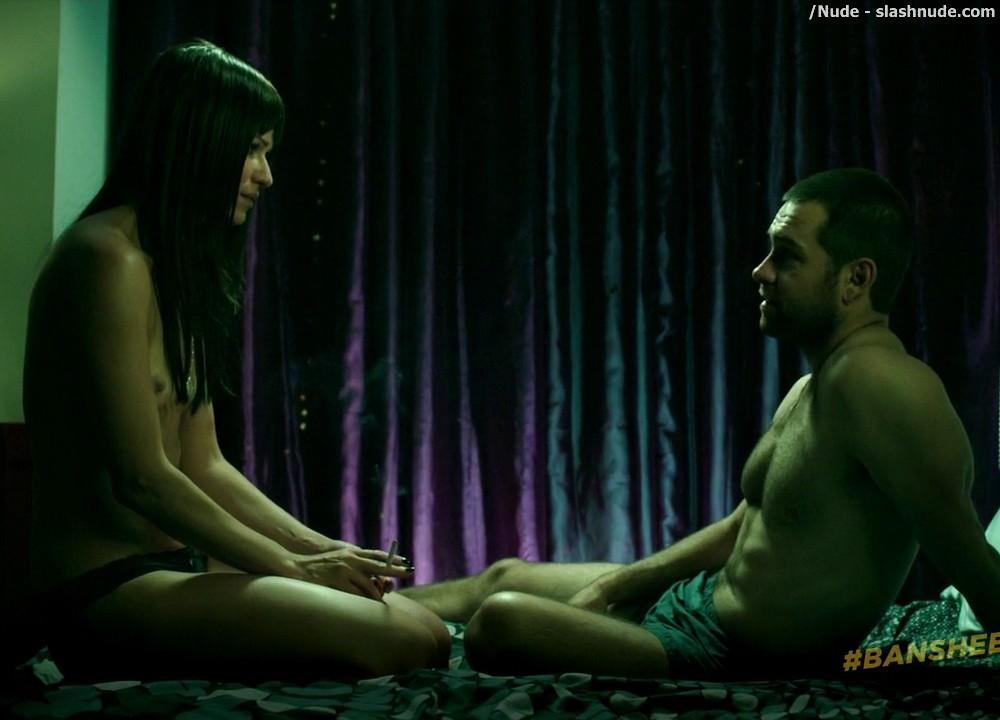 Ivana Milicevic Nude On Top From Banshee 16