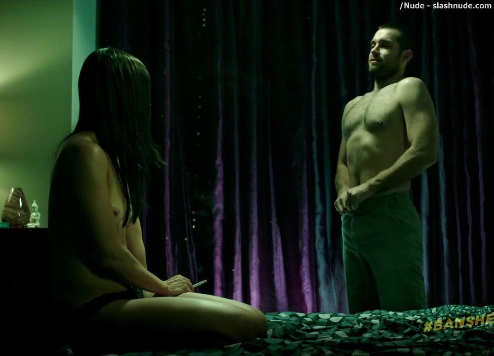 Ivana Milicevic Nude On Top From Banshee 17
