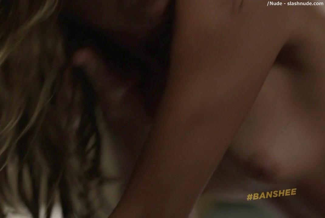 Ivana Milicevic Nude On Top In Banshee Sex Scene 12